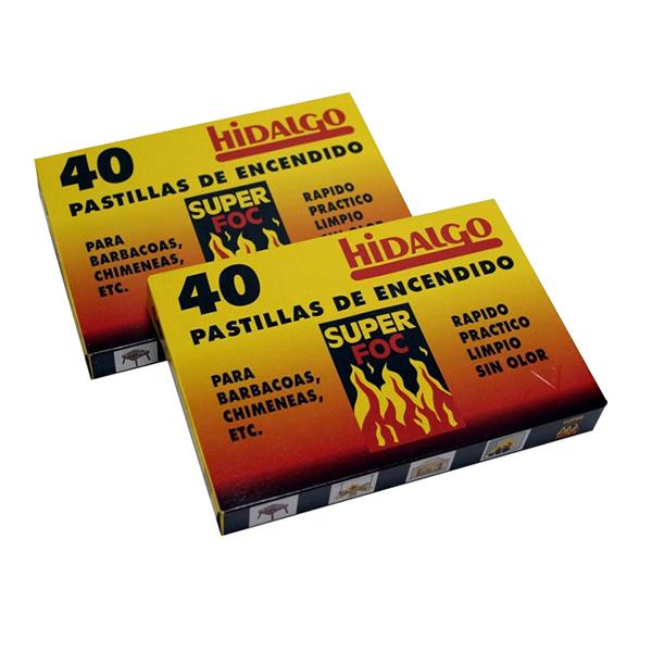 PASTILLAS DE ENCENDIDO