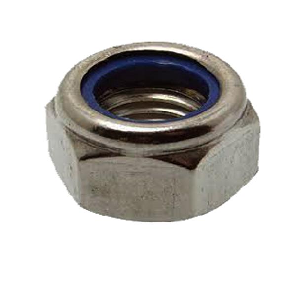 TUERCA DIN 985 INOX M-6